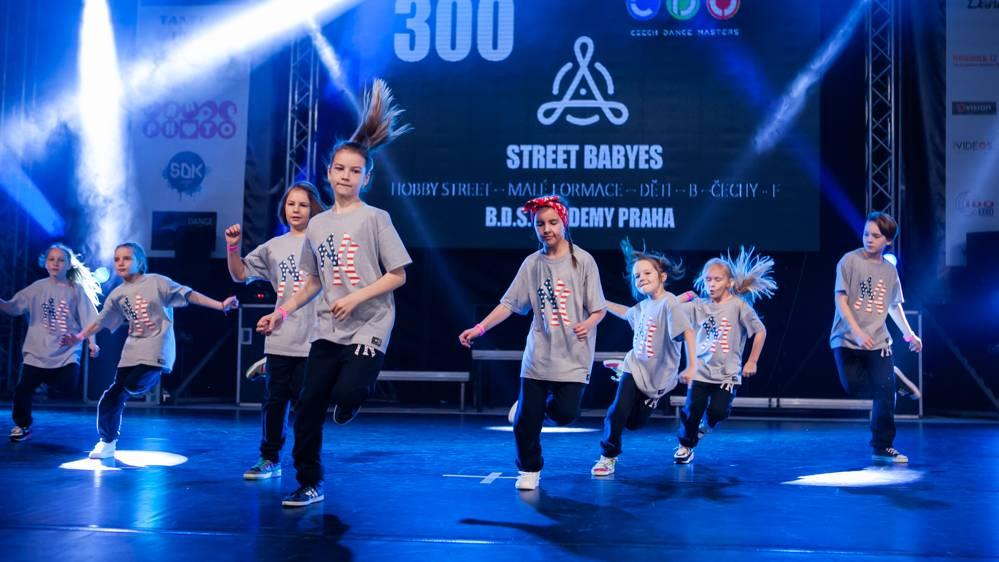 Street Dance a Hip Hop vystoupení Hobby street