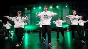 Taneční vystoupení skupin BDS
